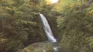 横谷峡 四つの滝!