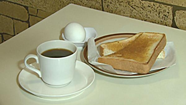 香り高いコーヒーと頂くモーニング☆