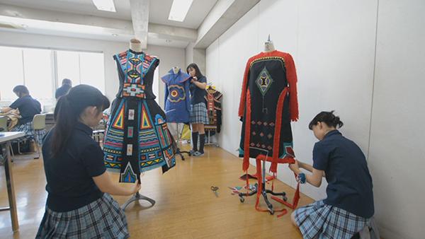 ファッションの専門技術を学ぶ学校!