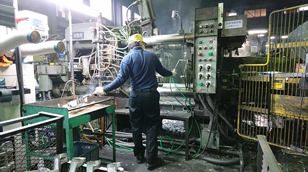 大正時代から続く鋳造技術