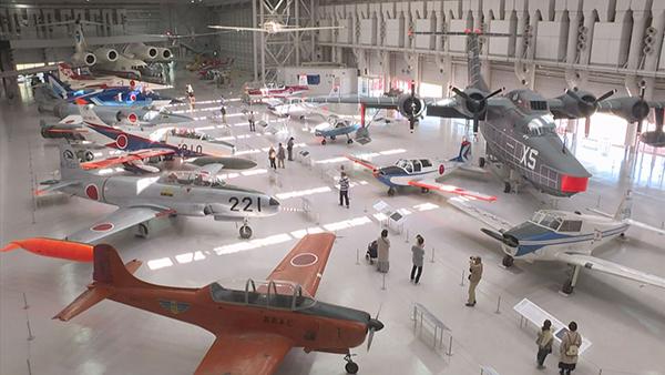 国内最多の実機展示!航空博物館