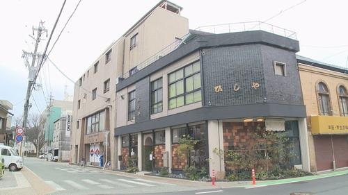 歴史ある文具店に喫茶が併設☆