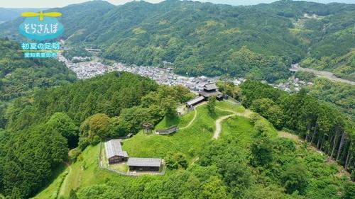 初夏の足助(愛知県豊田市)